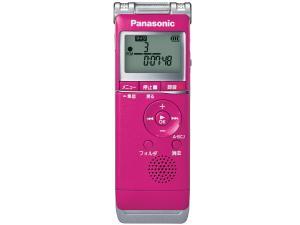 パナソニック ICレコーダー ピンク RR-XS360-P(RR-XS360-P)【smtb-s】