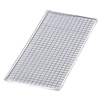 永田金網製造 1806602 使いすて焼網角#15(300×300)