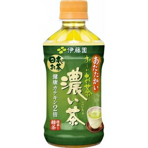 伊藤園 おーいお茶濃い茶ホット 345ml 【単品】