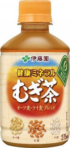 伊藤園 健康ミネラルムギ茶HOT PET 275ml