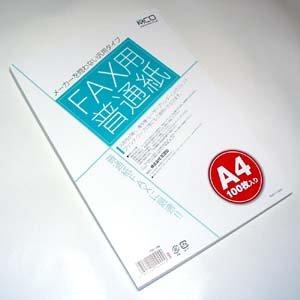 ミヨシ MCO FAX用普通紙 FXP-100 ( FXP-100 )