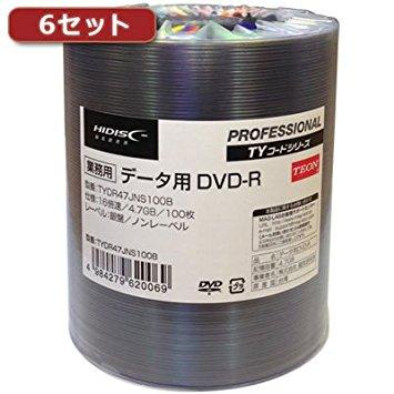 HIDISC TYDR47JNS100BX6【smtb-s】