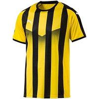 プーマ (703640/07)プーマ LIGA ストライプ ゲームシャツ カラー:CYBER YELLOW- サイズ:Sの画像