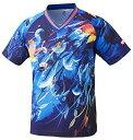 ニッタク(Nittaku) スカイリーフシャツ (NW2180) [色 : ブルー] [サイズ : S]【smtb-s】