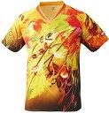 ニッタク(Nittaku) スカイリーフシャツ (NW2180) [色 : イエロー] [サイズ : 3S]