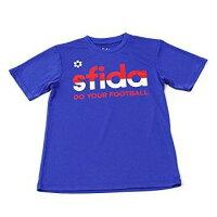 SFIDA(スフィーダ) ジュニアグラフィックプラT03 (SA18S24JR) [色 : BLUE] [サイズ : 150]【smtb-s】の画像