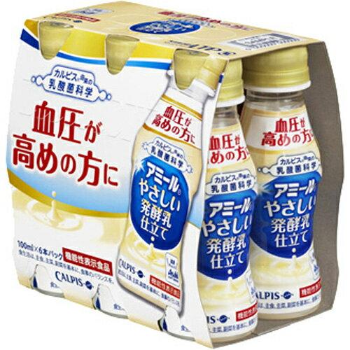 アサヒ アミールヤサシイ発酵乳仕立 100mL×6