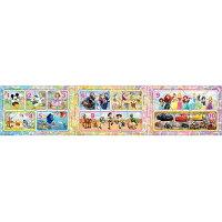 アポロ社 24-123 ステップパノラマパズル ディズニー&ディズニー/ピクサー すうじ【smtb-s】
