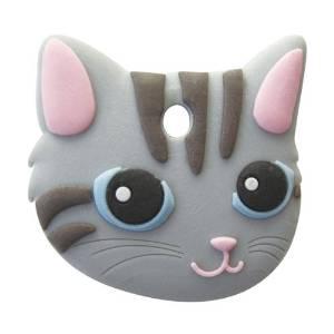 ワールド商事 (ワールド)ペットキーカバー猫 サバトラ 20725663