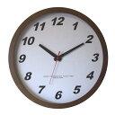 ショッピング電波時計 フォーカス・スリー メープルの時計 電波時計 ブラウン V-0012 (1170466)【smtb-s】