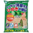 ショッピング猫砂 アース・バイオケミカル アース しっかり消臭する ひのきの猫砂 7L