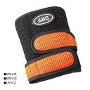 ABS ボウリンググローブ ミニリスト 左右兼用 オレンジ Mサイズ (1426789)【smtb-s】