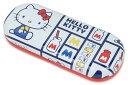 ショッピングハローキティ テーシーケース サンリオ メガネケース ハードケース ハローキティ SR-800KP ホワイト (1353363)
