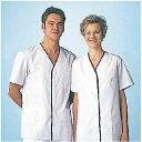 【まとめ買い10個セット品】男性用デザイン白衣 半袖 FA-347 LL 【 調理衣 ユニフォーム 】