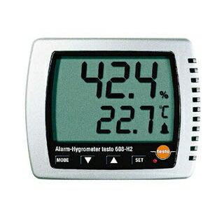 【業務用】卓上式温湿度計(アラーム付)Testo608-H2 0313ページ 01番 業務用