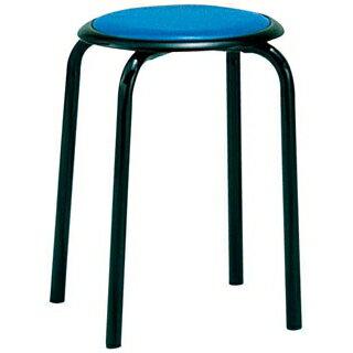 【業務用】丸椅子 M-24T(10脚入)ブルー 【 メーカー直送/決済 】 1952ページ 11番 業務用