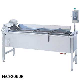【業務用】フジマック 業務用電気連続フライヤー FECF1582R W1645×D1230×H850【 メーカー直送/代引不可 】