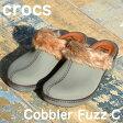 ショッピングウェッジソール クロックス コブラー クロックス コブラ ファズ Crocs Cobbler Fuzz C ボア レディース 国内正規品 ウェッジソール サボ 新作 種類 スリッポン スリッパ ファー 【送料無料】 【あす楽対応】