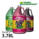GHフローラシリーズ3.78Lセット 水耕肥料の世界標準 GHフローラシリーズのお得なセット グロー・マイクロ・ブルーム(各3.78L)