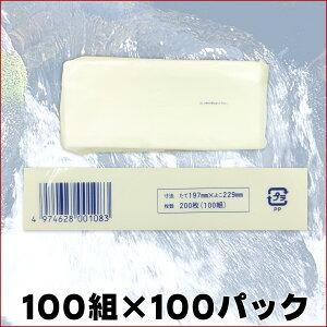 【送料無料】業務用ティッシュペーパーソフトパック100W【ピローティッシュペーパー】