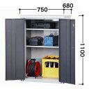 タカヤマ物置 オープンストッカー TMH-1167 [収納庫/収納/屋外収納庫/屋外/倉庫/激安/安い/価格/小屋/小型/ガーデニング/庭/ものおき/物置き]