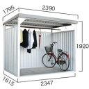 ダイマツ多目的万能物置 DM-10壁面パネルロング型 [収納/屋外収納/ガレージ/屋外/雨よけ/倉庫