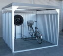ダイマツ多目的万能物置 DM-16壁面パネルロング型 [収納/屋外収納/ガレージ/屋外/雨よけ/倉庫/価格/小屋/庭/スペース/自転車/設置/物置き]