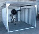 ダイマツ多目的万能物置 DM-20壁面パネルロング型 [収納/屋外収納/ガレージ/屋外/雨よけ/倉庫/価格/小屋/庭/スペース/自転車/設置/物置き]