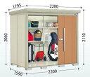 【一般型 標準屋根】タクボ物置 Mr.ストックマン ダンディ ND-2215 幅2280×奥行1