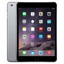 iPad mini3 Wi-Fi Cellular (MGHV2J/A) 16GB スペースグレイ [SIMフリー][中古Bランク]【当社1ヶ月間保証】 タブレット 中古 本体 送料無料【中古】 【 携帯少年 】