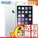 中古 iPhone6 Plus 16GB A1524 (NGA92J/A) シルバー au スマホ 白ロム 本体 送料無料【当社1ヶ月間保証】【中古】 【 携帯少年 】