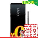 中古 Samsung Galaxy note8 Dual-SIM SM-N950FD【64GB Midnight Black海外版】 SIMフリー スマホ 本体...