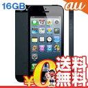 中古 iPhone5 LTE 16GB-CDMA ME039J/A ブラック au スマホ 白ロム 本体 送料無料【当社1ヶ月間保証】【中古】 【 携帯少年 】