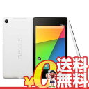 中古 Google Nexus7 (K008) 32GB White【2013 Wi-Fi版】 7インチ タブレット 本体 送料無料【当社1ヶ月間保証】【中古】 【 携帯少年 】