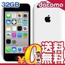 白ロム docomo 未使用 iPhone5c White 32GB [MF149J/A] 【当社6ヶ月保証】 スマホ 中古 本体 送料無料【中古】 【 携帯少年 】