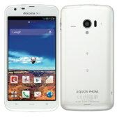 白ロム docomo AQUOS PHONE ZETA SH-06E White[中古Bランク]【当社1ヶ月間保証】 スマホ 中古 本体 送料無料【中古】 【 携帯少年 】