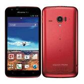 白ロム docomo AQUOS PHONE ZETA SH-06E Red[中古Bランク]【当社1ヶ月間保証】 スマホ 中古 本体 送料無料【中古】 【 携帯少年 】