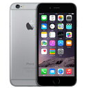 中古 iPhone6 16GB A1586 (MG472J/A) スペースグレイ SoftBank スマホ 白ロム 本体 送料無料【当社1ヶ月間保証】【中古】 【 携帯少年 】