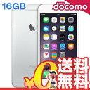新品 未使用 iPhone6 Plus 16GB A1524 (MGA92J/A) シルバー docomo スマホ 白ロム 本体 送料無料【当社6ヶ月保証】【中古】 【 携帯少年 】