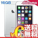 中古 iPhone6 16GB A1586 (MG482J/A) シルバー docomo スマホ 白ロム 本体 送料無料【当社1ヶ月間保証】【中古】 【 携帯少年 】