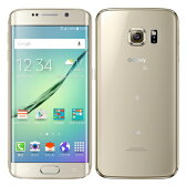 白ロム au 未使用 Galaxy S6 edge SCV31 64GB Gold Platinum【当社6ヶ月保証】 スマホ 中古 本体 送料無料【中古】 【 携帯少年 】