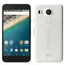 中古 Nexus 5X LG-H791 32GB QUARTZ docomo スマホ 白ロム 本体 送料無料