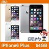 【未使用】 au iPhone6 Plus 64GB (3色展開) 【あす楽対応】【スマホ】【スマートフォン】【携帯電話】【白ロム】