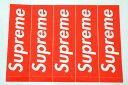5枚セット 定番★Supreme シュプリーム ステッカー ボックスロゴ