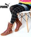 【送料無料】PUMA WMNS RING MID BOOT ALPINE プーマ ウィメンズ リングミッドブーツ アルパイン ブラウン レディース