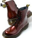 ショッピングドクターマーチン 【送料無料】Dr.Martens PASCAL 8HOLE BOOT CHERRY RED ドクターマーチン パスカル 8ホール ブーツ チェリーレッド