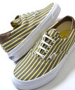 【送料無料】VANS ERA 59 STRIPES YELL...
