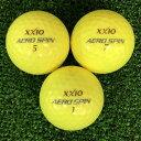 ショッピングゼクシオ 【中古】XXIO AERO SPIN プレミアムパッションイエロー 12球【Aランク】【ロストボール】