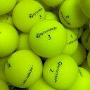 ロストボール テーラーメイド TaylorMade DISTANCE + SOFT マットイエロー 24球 【A+ABランク】 ゴルフボール 【中古】