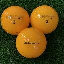 【中古】kasco KIRA Sweet オレンジ 20球【ABランク】【ロストボール】